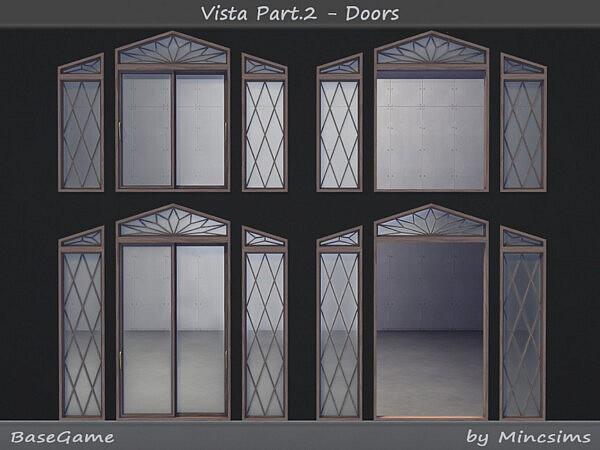 Vista Set Part 2   Doors by  Mincsims from TSR