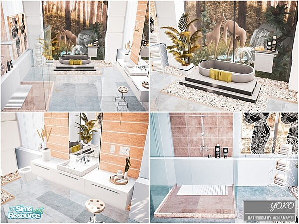 Yoko Bathroom by Moniamay72 from TSR