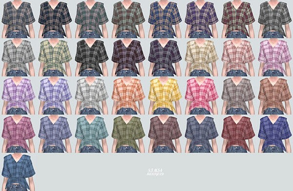 P0 Shirts V2 from SIMS4 Marigold