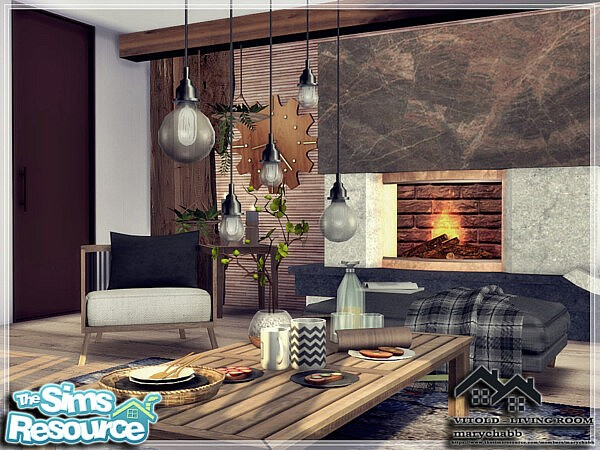 Vitold  Living Room by marychabb from TSR