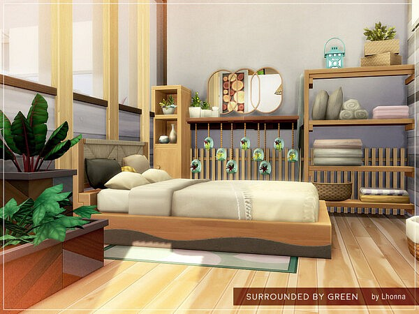 Surrounded by Green Villa by Lhonna from TSR