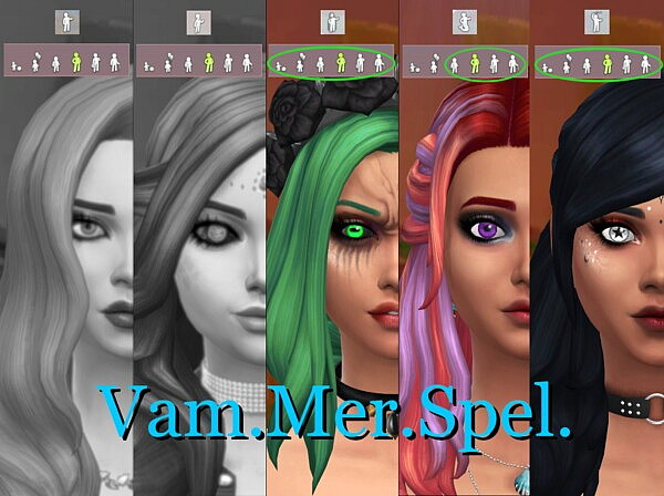 X Shaped Pupils by Serpentia from Mod The Sims