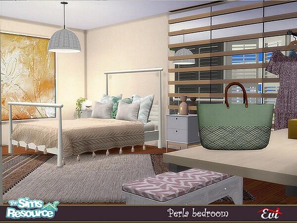 Perla Bedroom by evi from TSR