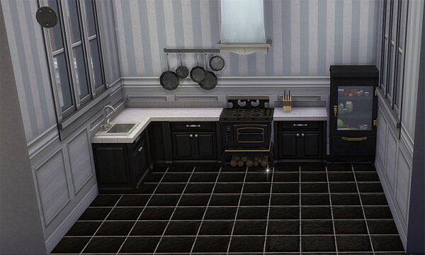 Slate Floor Flooring by Wicked Old Witch from Mod The Sims