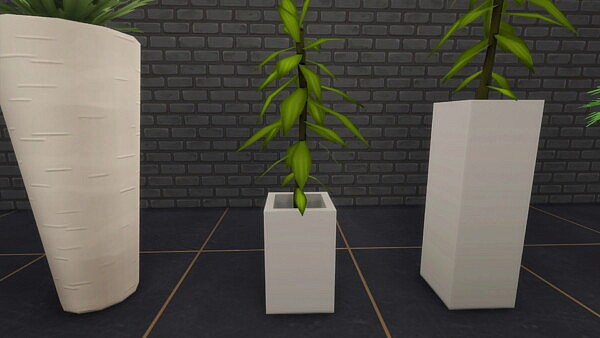 Smaller Plants Set Part I by Radiophobe from Mod The Sims