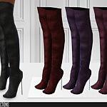 660 High Heel Boots sims 4 cc