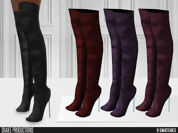 660 High Heel Boots sims 4 cc