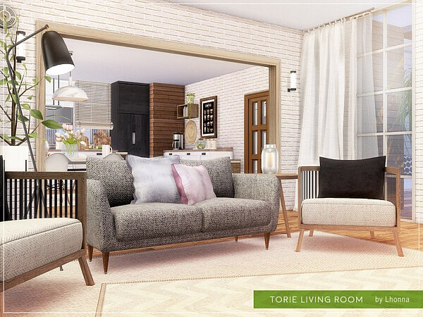 Torie Living Room by Lhonna from TSR
