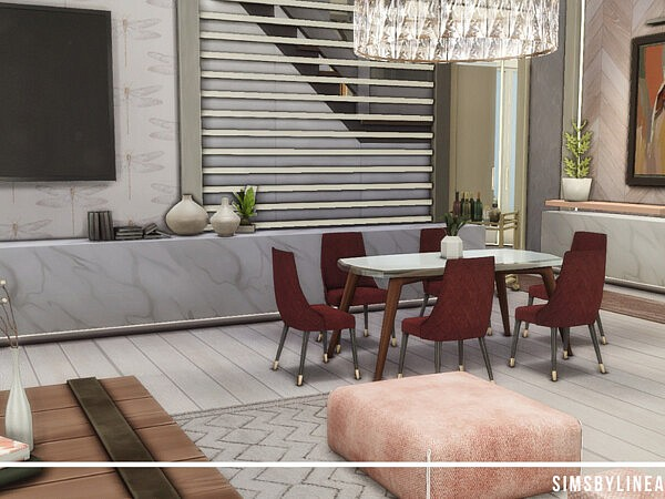 Contemporary Living Room by SIMSBYLINEA from TSR