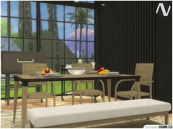 Phoenix Outdoor Dining by ArtVitalex from TSR