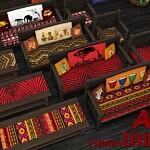 AFRICA Livingroom 2021 sims4 cc