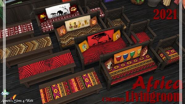 AFRICA Livingroom 2021 from Annett`s Sims 4 Welt
