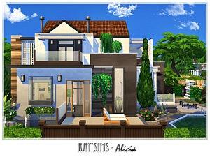 Alicia House sims 4 cc