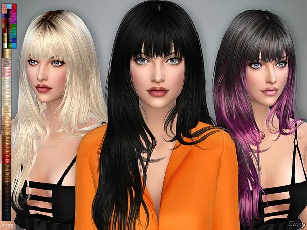 Aliza Hair sims 4 cc
