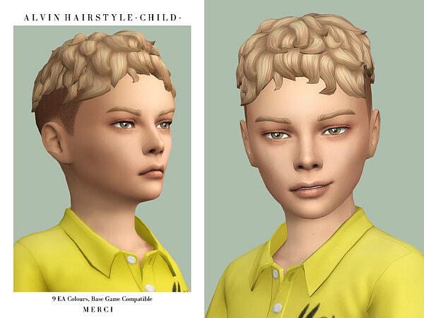 Alvin Hair sims 4 cc