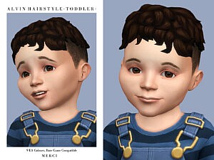 Alvin Hairstyle T sims 4 cc