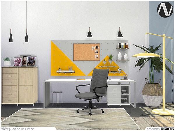 Anaheim Office sims 4 cc