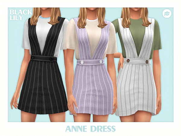 Anne Dress by Black Lily from TSR