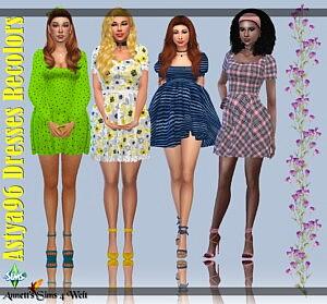 Astya96 Dresses sims 4 cc