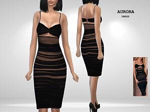 Aurora Dress sims 4 cc