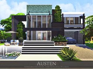 Austen House sims 4 cc