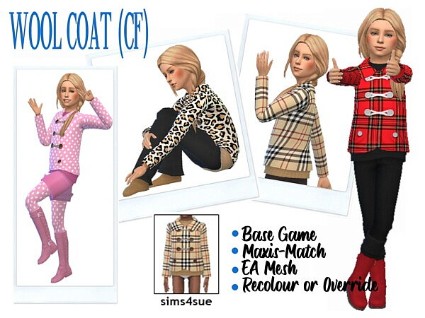 BG Wool Coat from Sims 4 Sue