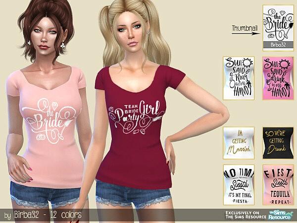 Bachelorette Party sims 4 cc