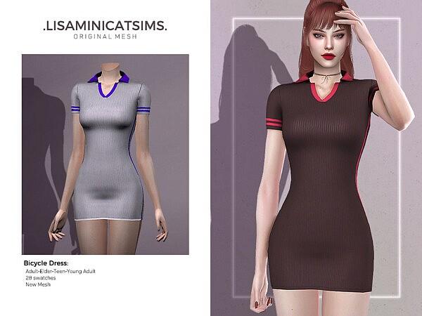 Bicycle Dress sims 4 cc