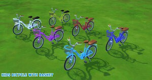 Bicycle For Kids and Toddler sims 4 cc