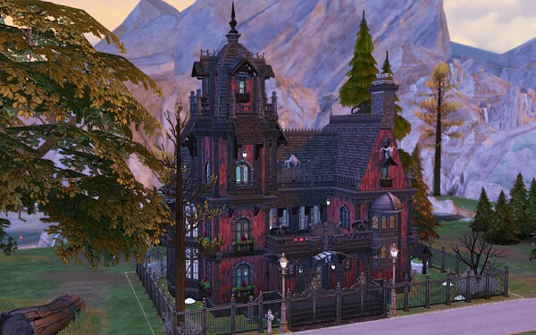 Blood Manor sims 4 cc