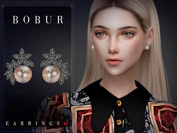 Bobur Earrings 46 sims 4 cc