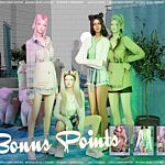 Bonus Points set sims 4 cc