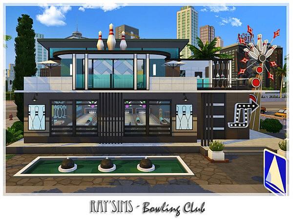 Bowling Club sims 4 cc