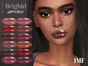 Brighid Lipstick N.337 sims 4 cc