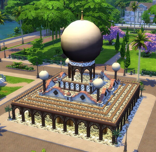 Casablanca Hookah Moroccan Styled Restaurant sims 4 cc