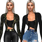 Casual Fit Jackets sims 4 cc