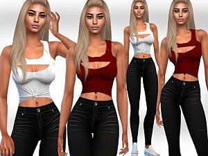 Casual Fit Outfits sims 4 cc