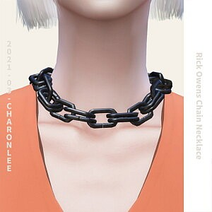 Chain Necklace sims 4 cc