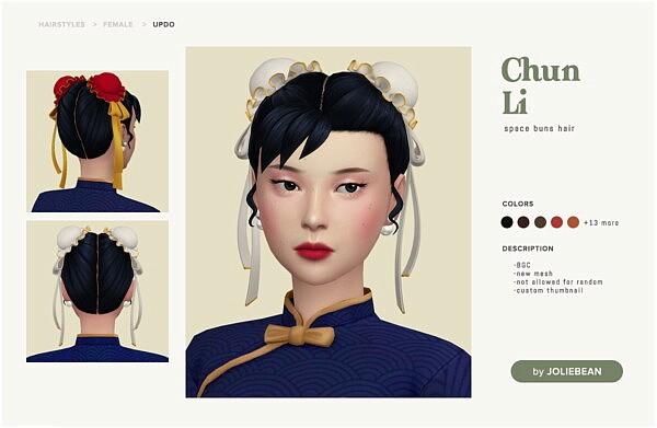 Chun Li Hair from Joliebean