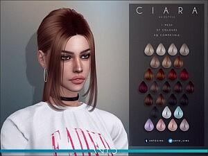 Ciara Hair sims 4 cc