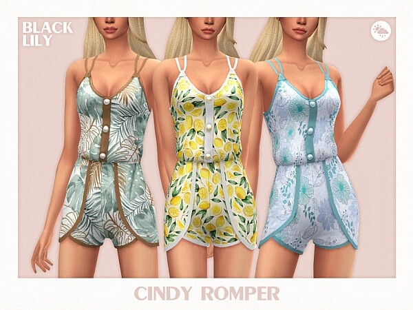 Cindy Romper sims 4 cc