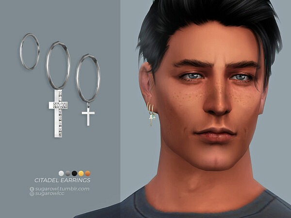 Citadel earrings sims 4 cc