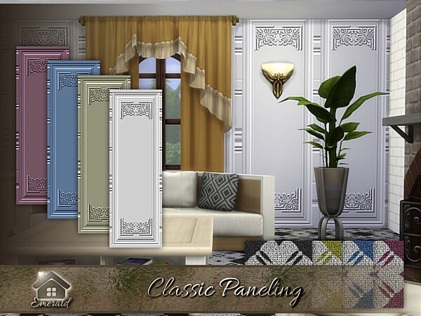 Classic Paneling sims 4 cc