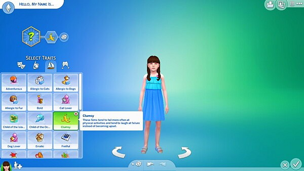 Clumsy trait for child by Sofmc9 from Mod The Sims