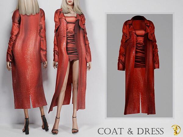 Coat and Dress sims 4 cc