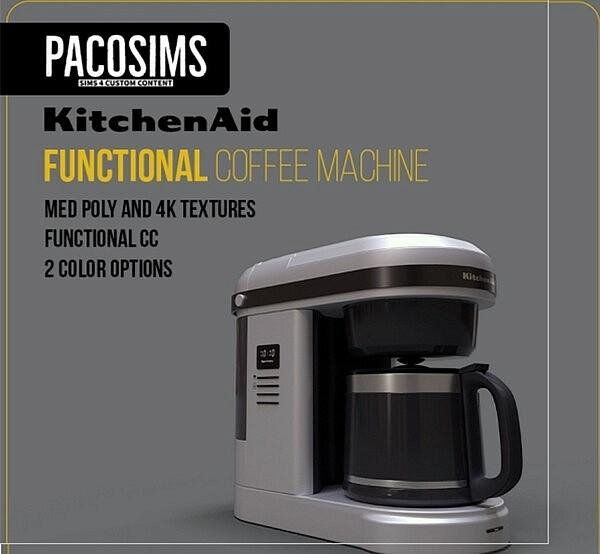 Coffee Machine sims 4 cc