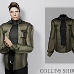 Collins Shirt sims 4 cc