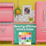 Country kitchen kit sims 4 cc