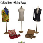 Crafting Room Add On Sewing sims 4 cc