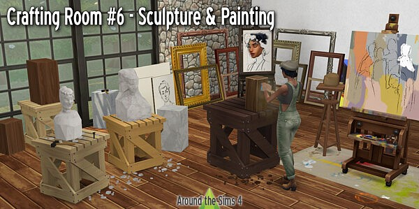 Crafting Room Sculpture and Painting